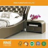 Кровать из натуральной кожи Честерфилд Честерфилд кровать A8008 №