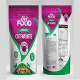 Прокатанные мешки упаковки еды для котов
