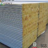 Feuerfeste Material-Isolierungs-Felsen-Wolle-Zwischenlage-Panels