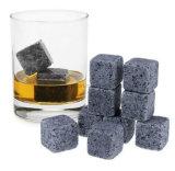 OEMの再使用可能な石のワインのウィスキーは角氷に投石する