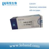 Hotsale 100strips/papel de teste do papel de teste dos sais amónio Quaternary da caixa