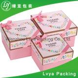 Preiswerter Zoll gedruckter kosmetischer Papierkasten für das Geschenk-Verpacken