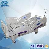 Bae517ec medizinische Funktions-justierbares elektrisches Bett des Krankenhaus-Geräten-fünf mit DrehSiderails