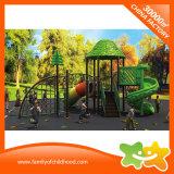 Скольжение пробки Plaground напольных детей оборудования парка атракционов пластичное для сбывания