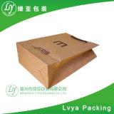 Bolso de compras de papel modificado para requisitos particulares profesional para empaquetar