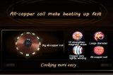 L'energia elettromagnetica del forno del fornello a temperatura elevata di induzione salva 2200W