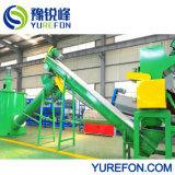 500 kg/h-3000kg/H utiliza leche de plástico de HDPE y champú/detergente de lavado de máquina de reciclaje de botella