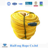 12 물가 UHMWPE Polyester Covered 근해 Rope 200m