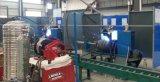 cadena de producción automática del cilindro de gas de 15kg LPG máquina circunferencial de la soldadura continua de los equipos de fabricación de la carrocería