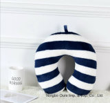 Almohada de viaje de trabajo en forma de U/cuidado de salud en el cuello almohada proveedor chino