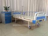 Hauptjustierbares manuelles Krankenhaus-Bett des gesundheitspflege-Geräten-1-Crank