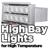 Resistente a altas temperaturas Luz Highbay LED 200W funciona em áreas de alta temperatura