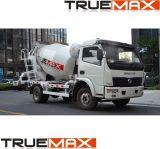 Ständig erhöhter konkreter LKW-Mischer und oberer Teil