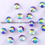Do Rhinestone quente do reparo de 2018 Ss16 Tanzanite Ab a pedra de cristal de vidro de venda quente a mais atrasada de Preciosa da cópia (classe do ab /5A do tanzanite HF-ss16)
