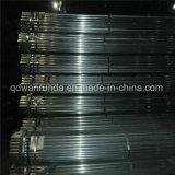 Tubo de acero galvanizado para tubos decorativos