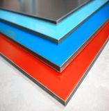 samengestelde Comité van het Aluminium van 4mm het PVDF/PE Met een laag bedekte voor de BuitenBekleding van de Muur