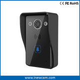 720p a distancia de seguridad del Hogar Inteligente de Vídeo WiFi con el timbre de Intercomunicación de dos vías