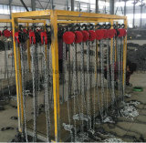 Élévateur à chaînes durable employé couramment manuel de Hsz