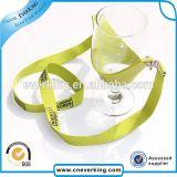 個人化された二重旋回装置のホックのワイングラスのホールダーの締縄