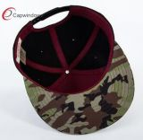 Оптовый Snapback Hat&#160 ткани Camo; для изготовленный на заказ конструкции логоса