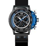 De populaire Aangepaste Horloges van het Silicone van het Embleem van het Horloge van de Sport van de Stijl van de Manier van het Embleem Douane Afgedrukte