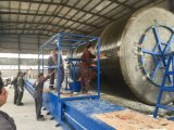 水平のタイプFRPまたはGRPタンク巻上げ機械、生産ライン
