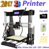 Imprimante des tailles importantes 3D de haute précision d'Anet 3D A8 avec du ce de FCC RoHS