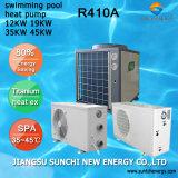 L'eau 12kw/19kw/35kw/70kw Heatpump Chauffage de piscine
