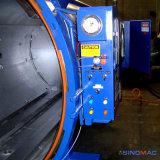 autoclave de borracha de Vulcanizating do aquecimento elétrico de 1000X1500mm com controle do PLC