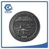 Moedas comemorativas da medalha por atacado da moeda do metal da raça