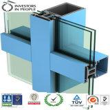 Profils d'extrusion en aluminium / aluminium pour vitre de vitre