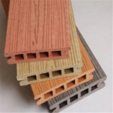 Revestimento plástico de madeira do Decking do composto/WPC/WPC