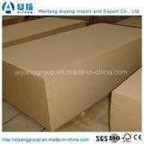 Media-Densidad llana Fibreboard/MDF de los 4FT*8FT de Shandong