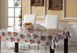 PVC gravado Gloden lateral impresso e dobro Tablecloth&#160 da venda quente;