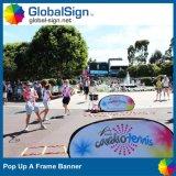 Shanghai Globalsign Hot Selling Pop acima um Frame Banners