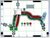 가공하는 주문을 받아서 만들어진 CNC 고무 호스를 위한 공구 검사
