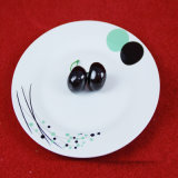 Placa de cena de cerámica del restaurante de cerámica del servicio de mesa de China