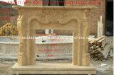 백색 대리석 벽난로 벽로선반 (SY-MFP609)