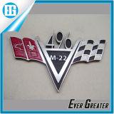 Автомобиль логоса автомобиля металла моделирует значок таможни эмблемы этикеты
