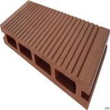 Planchers de bois de haute qualité WPC Decking composites en plastique pour l'extérieur