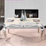 Нержавеющая сталь, модная, таблица своеобычности мраморный обедая