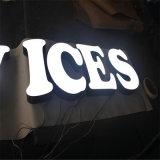 특별한 아크릴 두 배 편들어진 LED 편지