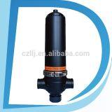Purificador automático da placa do disco da água de Fiter da limpeza do auto da água do remoinho do sistema de irrigação do gotejamento do filtro de areia do sistema da filtragem da água