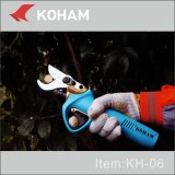 Het Snoeien van de Omleiding van de Hulpmiddelen van Koham FCC van Scharen de Gediplomeerde Batterij die van het Lithium van de Bomen van de Appel Snoeischaar van de Omleiding van de Schaar Loppers de Aangedreven Elektro Handbediende Pruners in orde maken