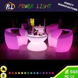 Das wasserdichte geleuchtete Glühen leuchten LED-Sofa