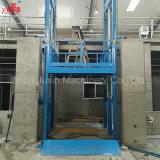 5-15ton modificó la plataforma vertical de elevación de la elevación para requisitos particulares del cargo del carril de guía del almacén de la altura con la certificación de la ISO del Ce