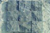 Pietra per lastricati 50*50*50mm, lastricatori di pietra naturali neri della strada privata esterna