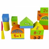 De nouveaux blocs de construction en bois jouet éducatif bloc magnétique pour les enfants