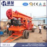 HF-6A de Installatie van de Boring van de Percussie van het Type van aanhangwagen