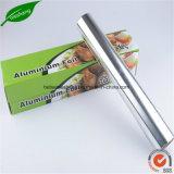 Papel de lámina de aluminio de lámina de enrollado Alimentaria